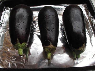 grillade auberginer