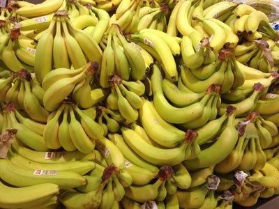Vanliga eller eko bananer