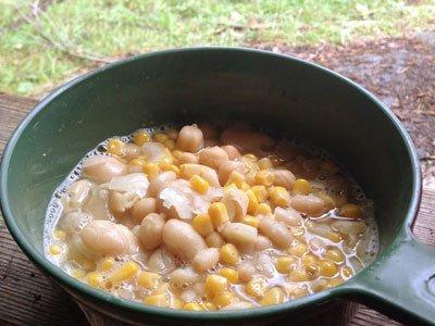 Super snabb bönsoppa med majs