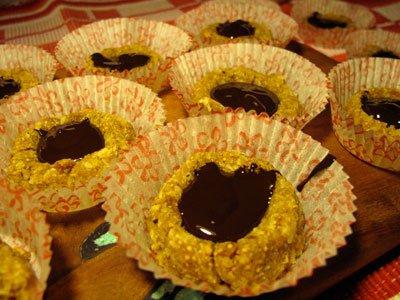 Chokladgrottor med julkryddor