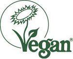 Veganmärkning från the vegan society