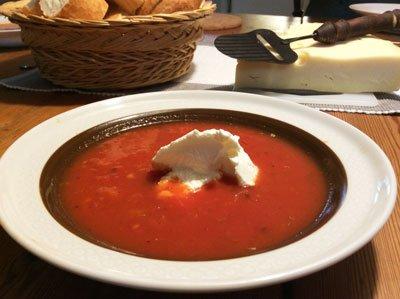 Supersnabb tomatsoppa